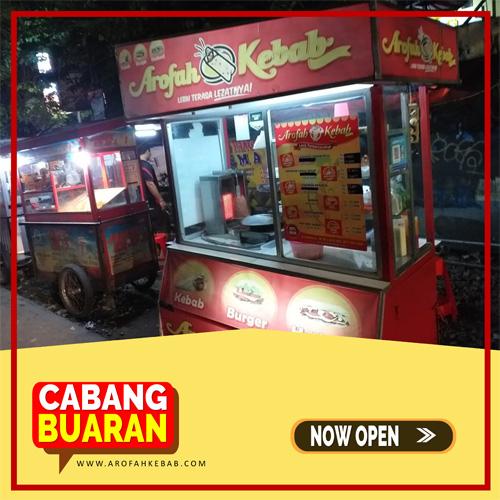 Franchise Kebab Arofah Cabang Buaran