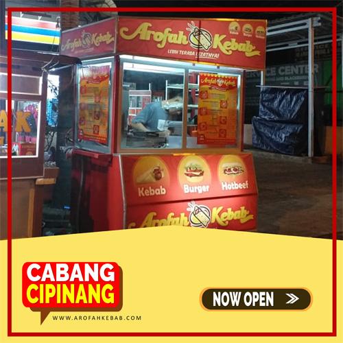 Franchise Kebab Arofah Cabang Cipinang