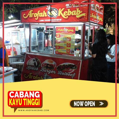 Franchise Kebab Arofah Cabang Kayu Tinggi