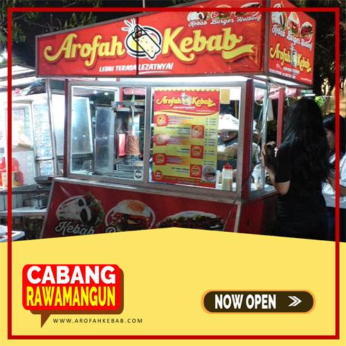 Franchise Kebab Arofah Cabang Rawamangun