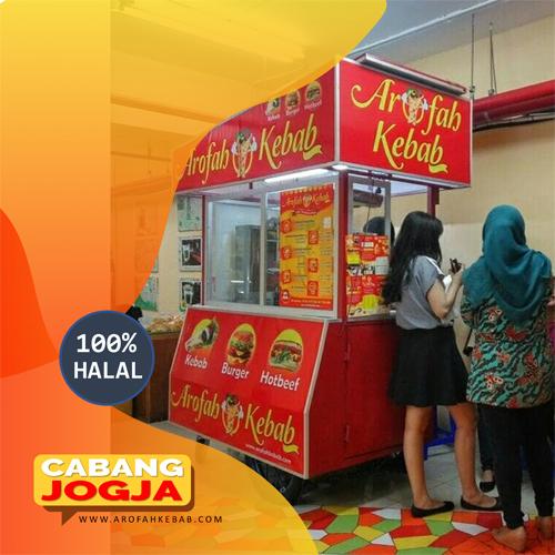 Franchise Kebab Arofah Cabang Jogja