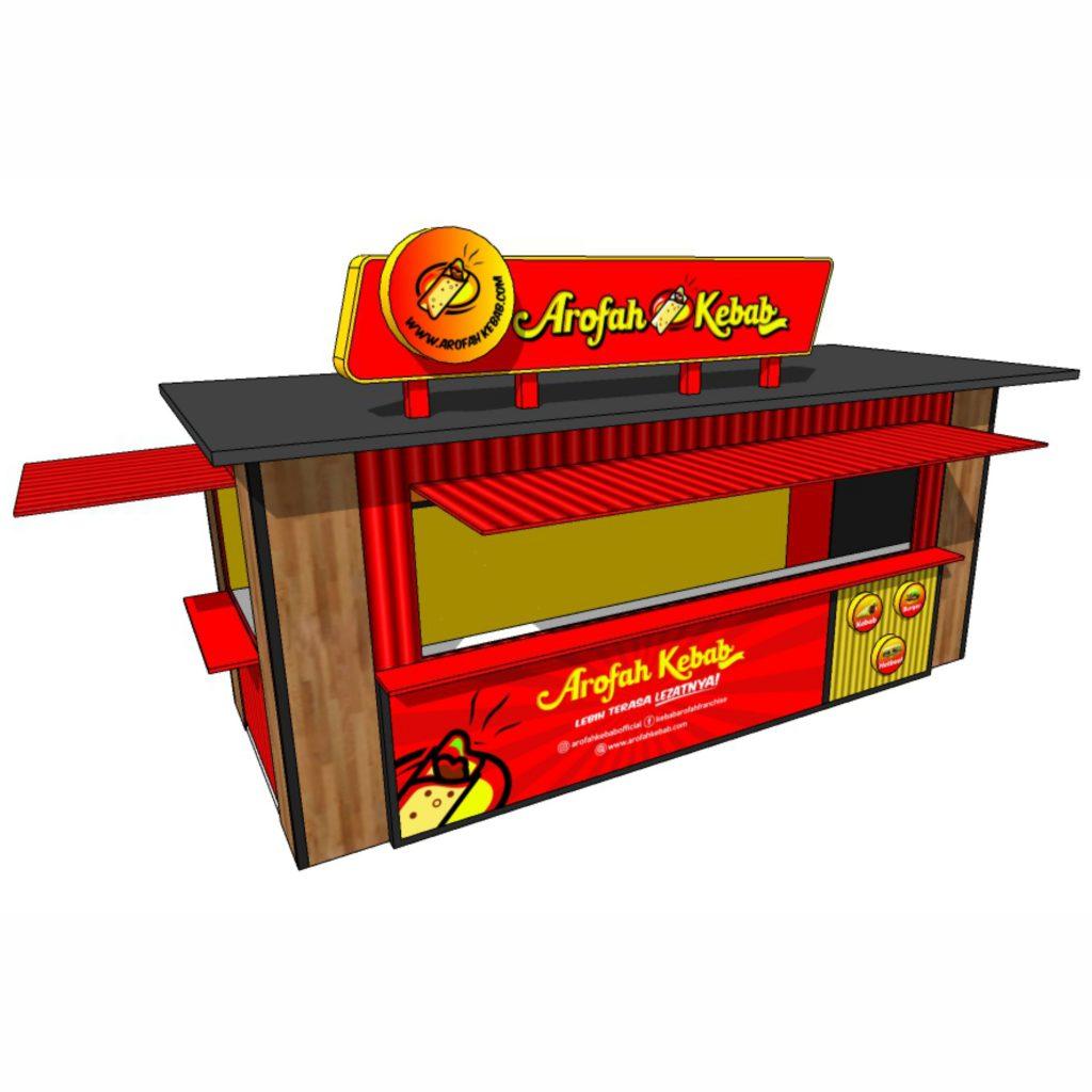 Booth kebab arofah