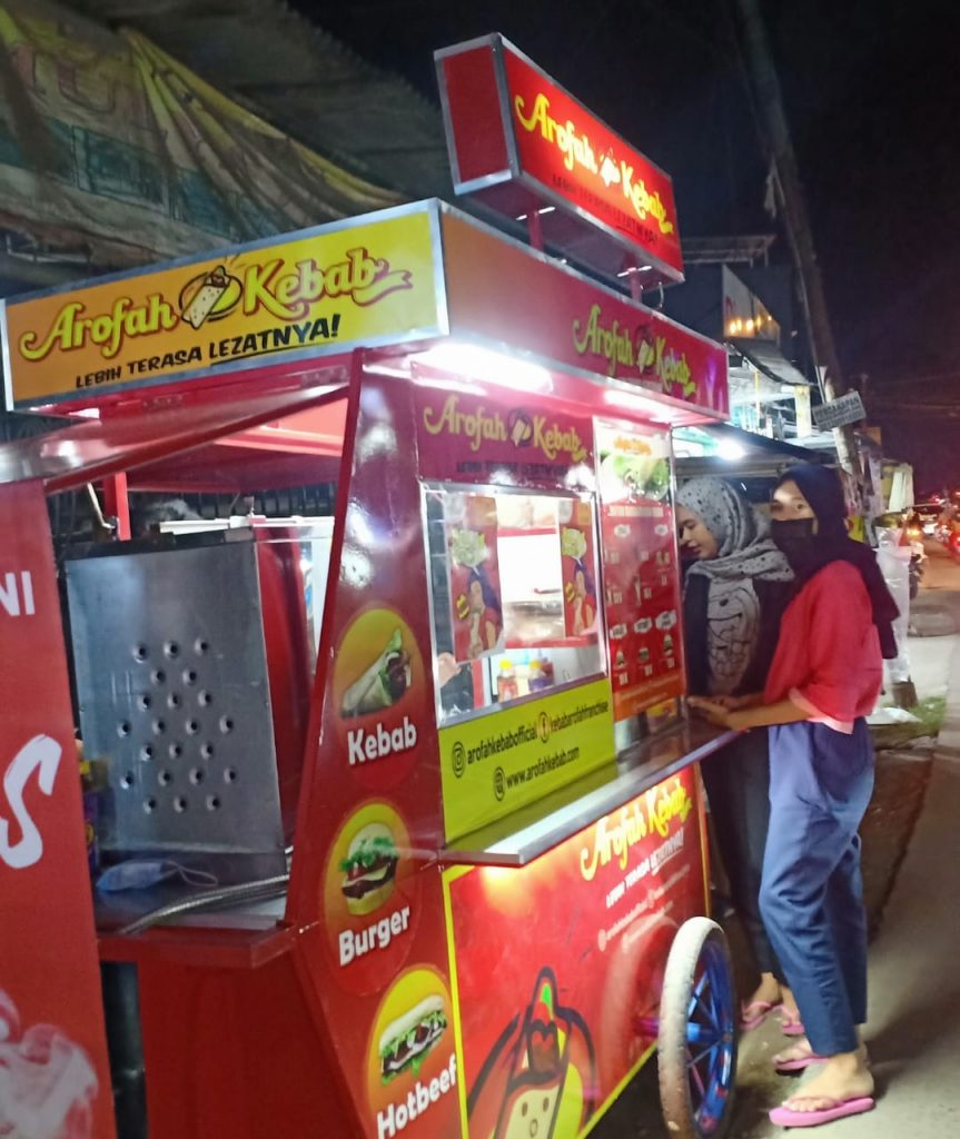 Franchise kebab turki arofah